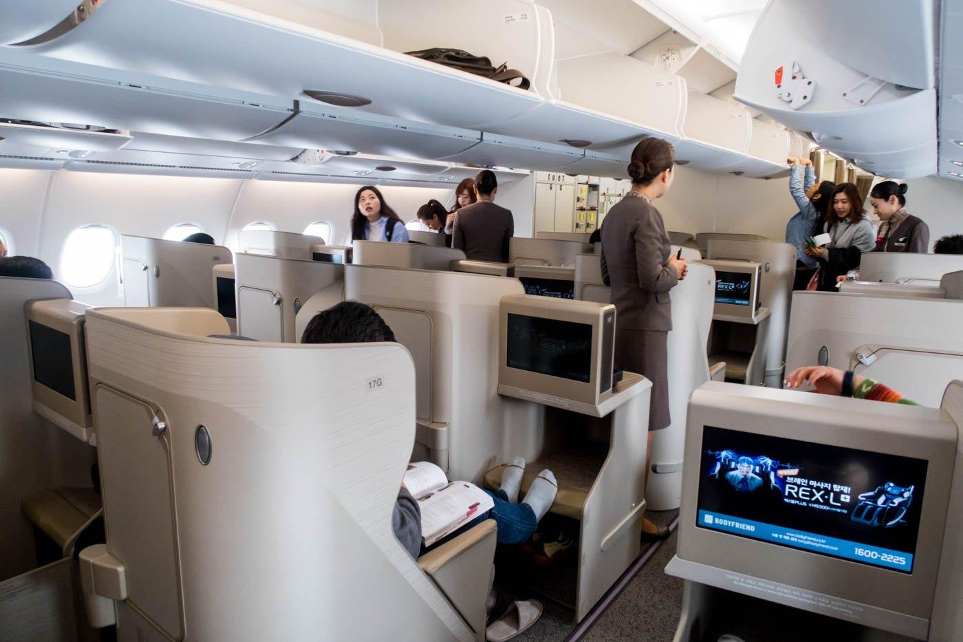 Asiana Airlines A380 Boarding at Tokyo Narita