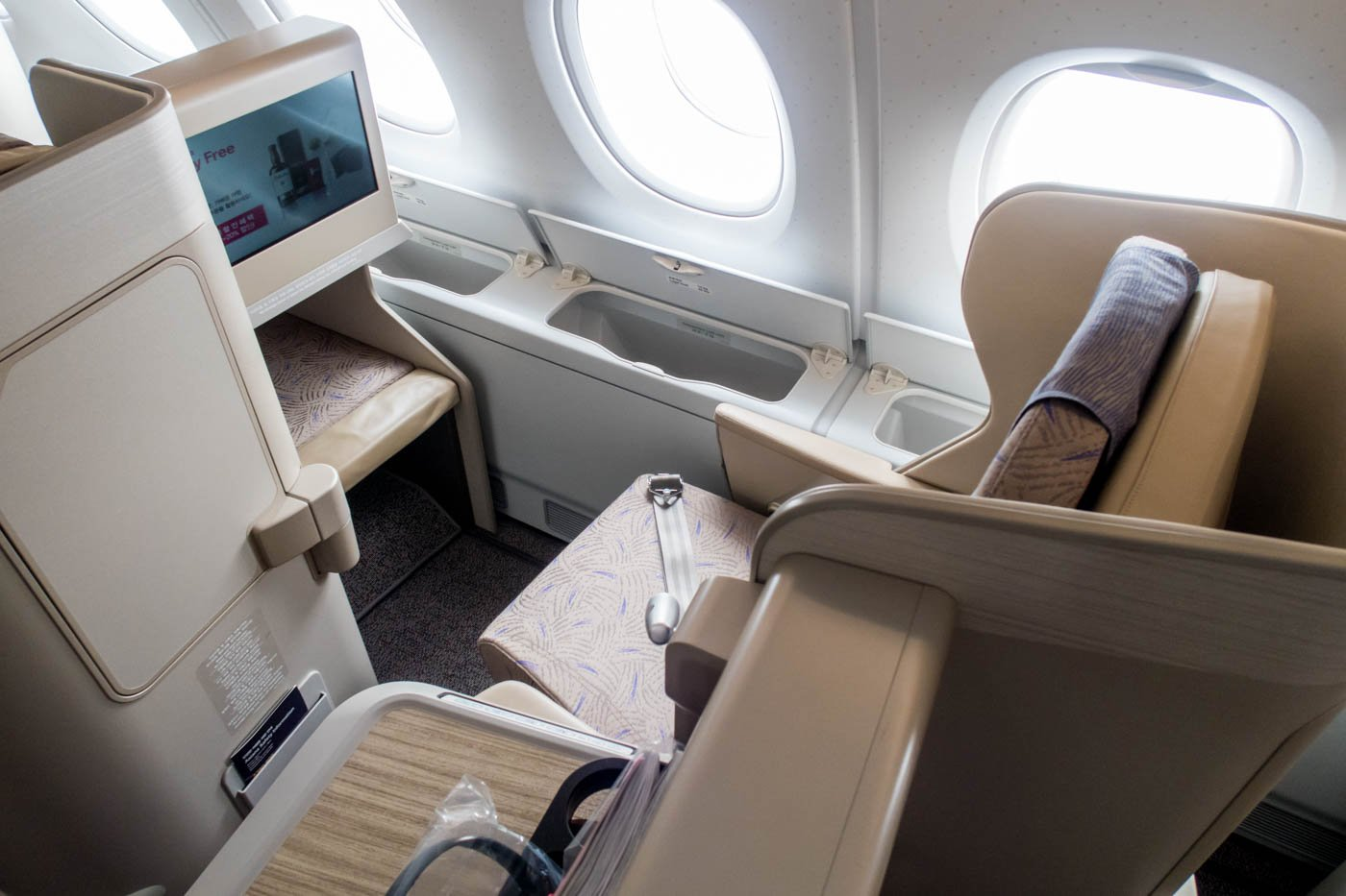 Asiana Airlines A380 Business Class Seat