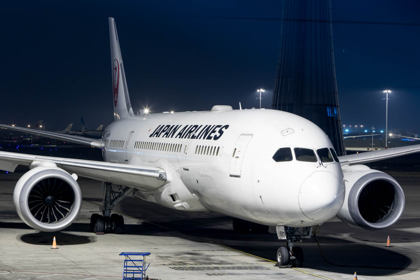 Japan Airlines 787-8 at Beijing Capital