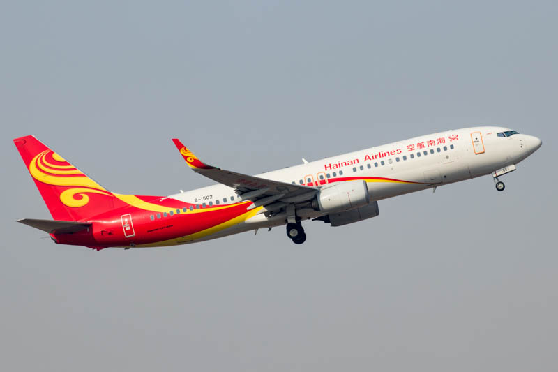Hainan Airlines 737-800