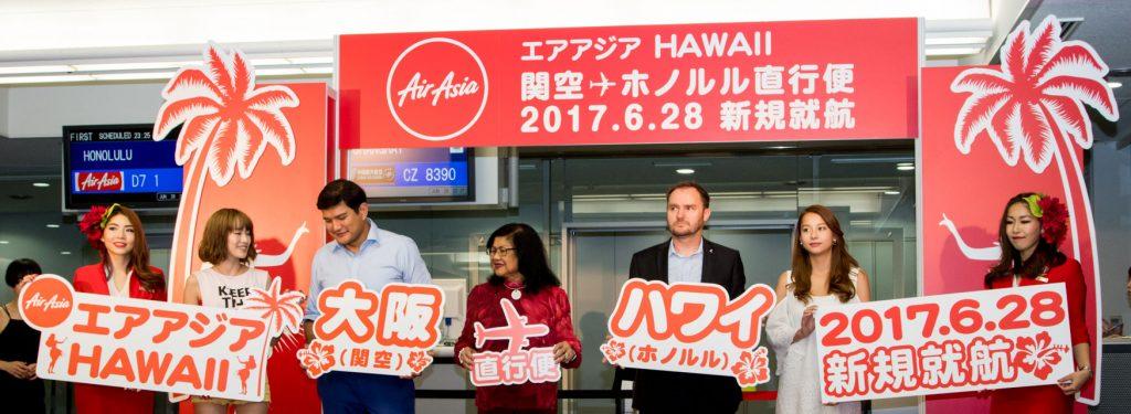 AirAsia X to Increase Frequency on Osaka Kansai - Honolulu to Daily