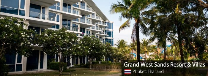 Spotting Hotel Review: Grand West Sands Resort & Villas Phuket