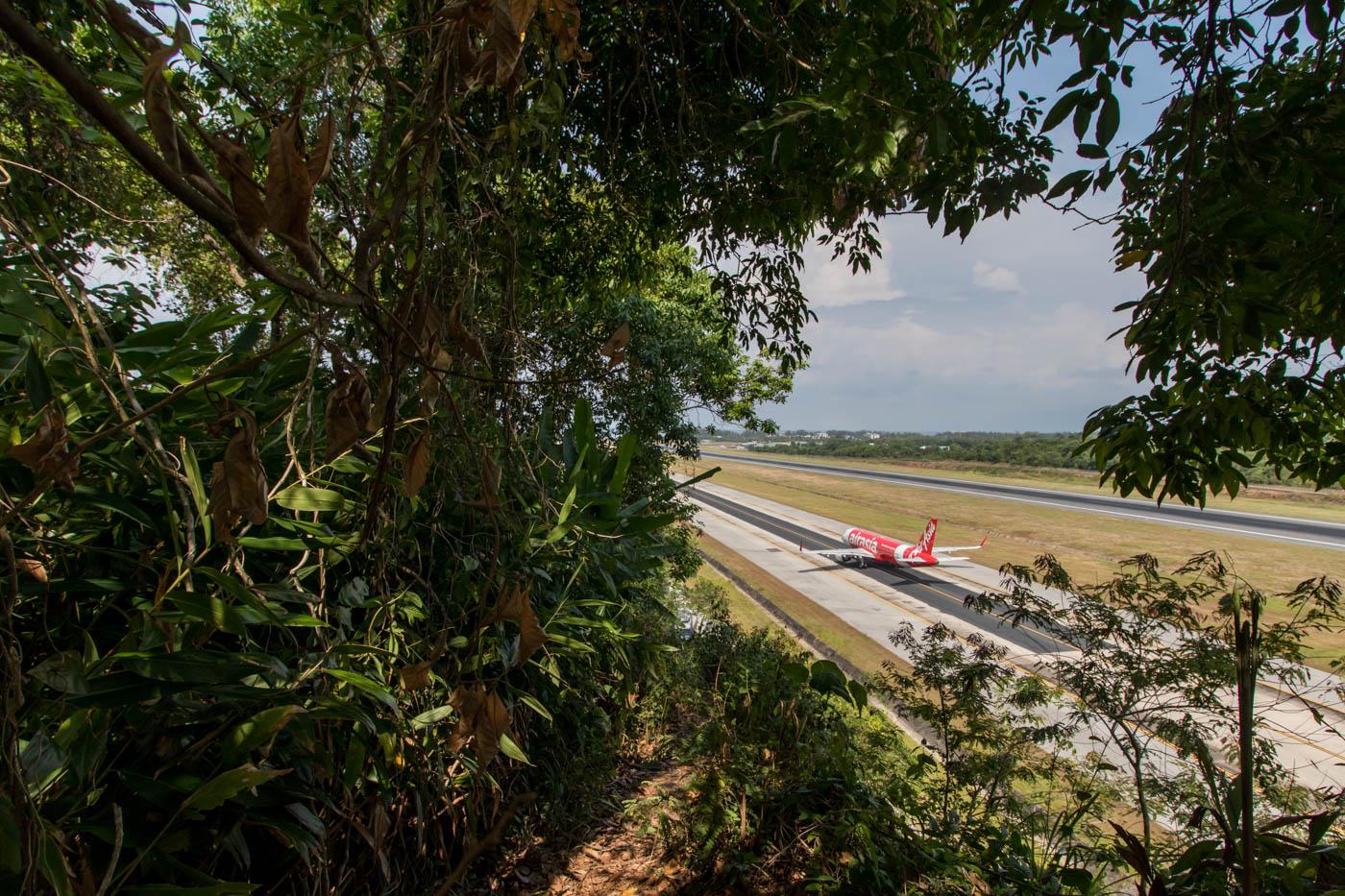 AirAsia A320 at Phuket Airport
