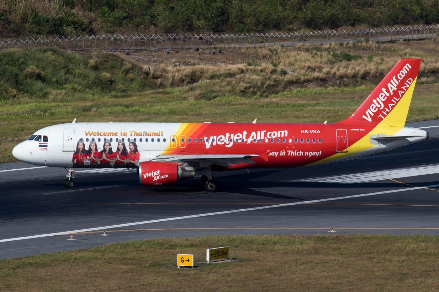 VietJet Thailand A320