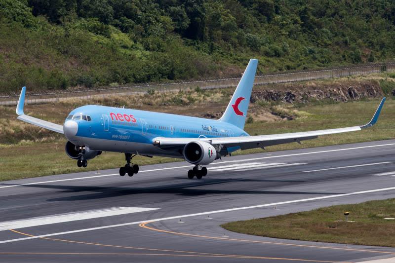 Neos 767-300ER at Phuket Airport