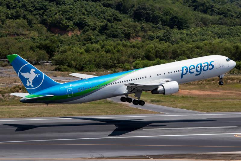 Pegas Fly at Phuket Airport