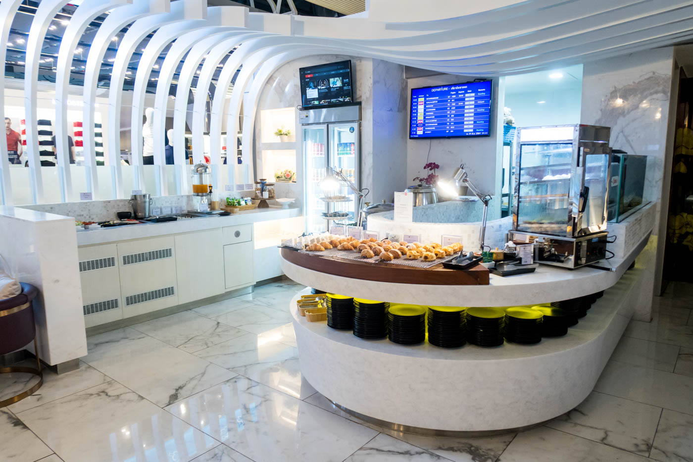 Review Thai Airways Royal Orchid Lounge At Phuket Airport