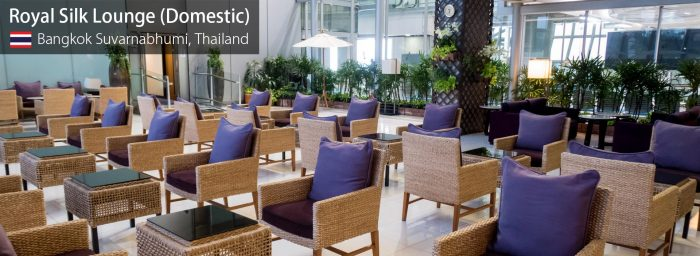 Lounge Review: Thai Airways Domestic Royal Silk Lounge at Bangkok Suvarnabhumi