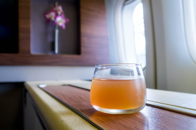 Thai Airways Signature Ice Tea