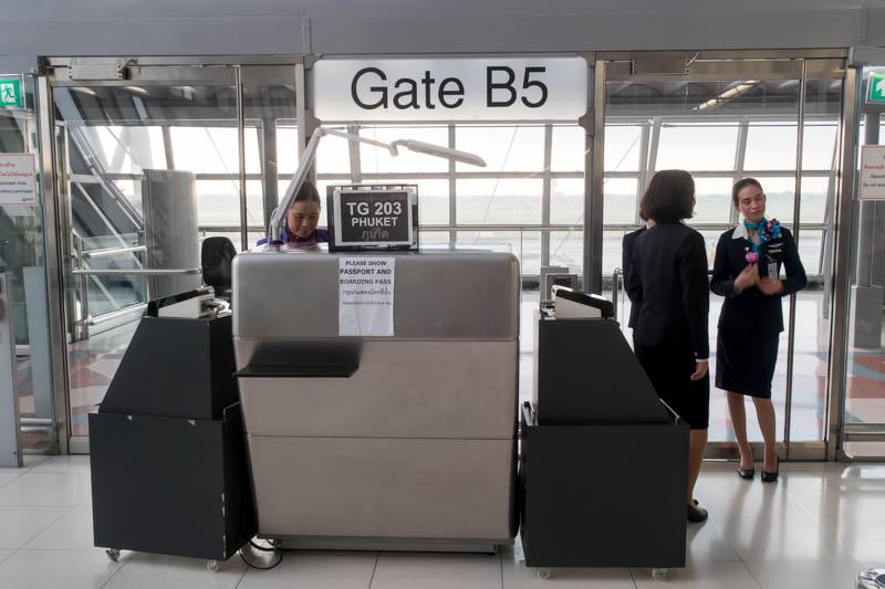 Bangkok Suvarnabhumi Airport Gate B5