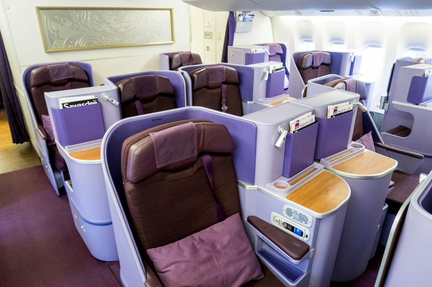 Thai Airways 777-300ER Business Class Seats