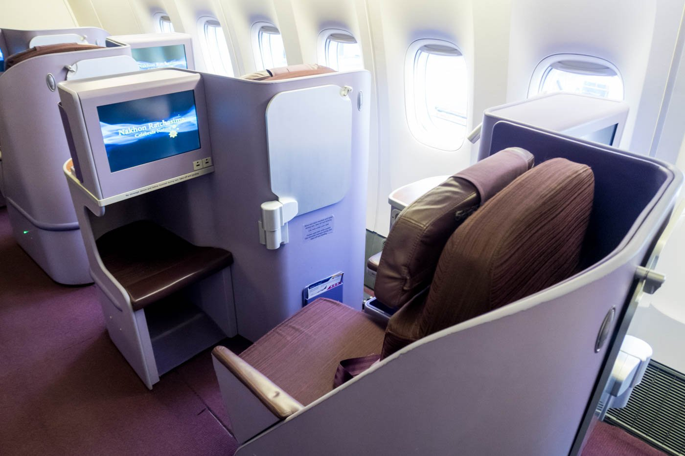 Thai Airways Royal Silk Class Onboard the 777-300ER