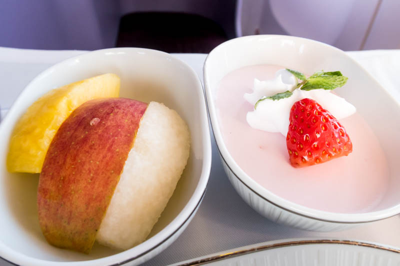 Fruits and Dessert Onboard TG