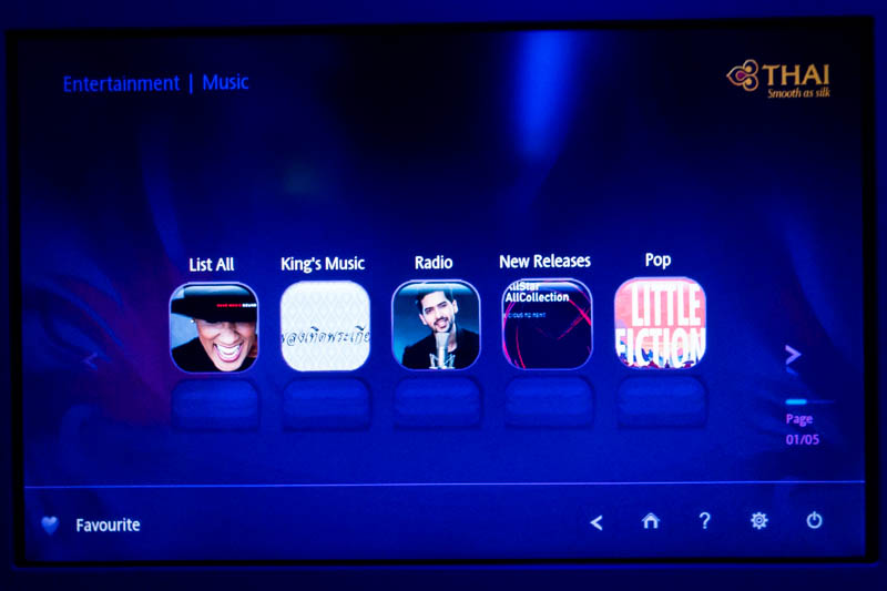 Thai Airways IFE Music
