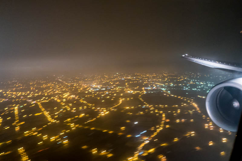 Approaching Taipei