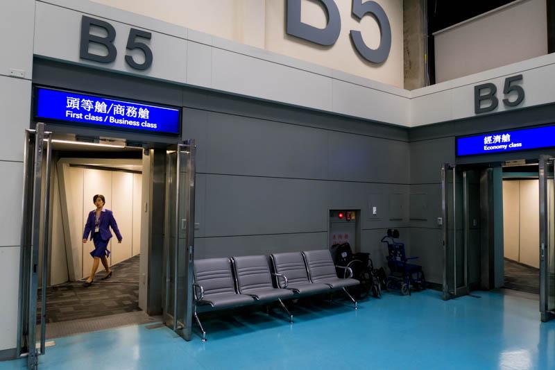 Boarding Taipei-Bangkok Segment