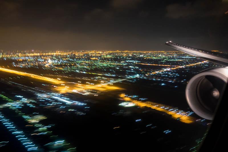 Approaching Suvarnabhumi Airport