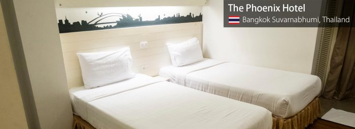 Airport Hotel Review: The Phoenix Hotel Bangkok (Suvarnabhumi Airport)