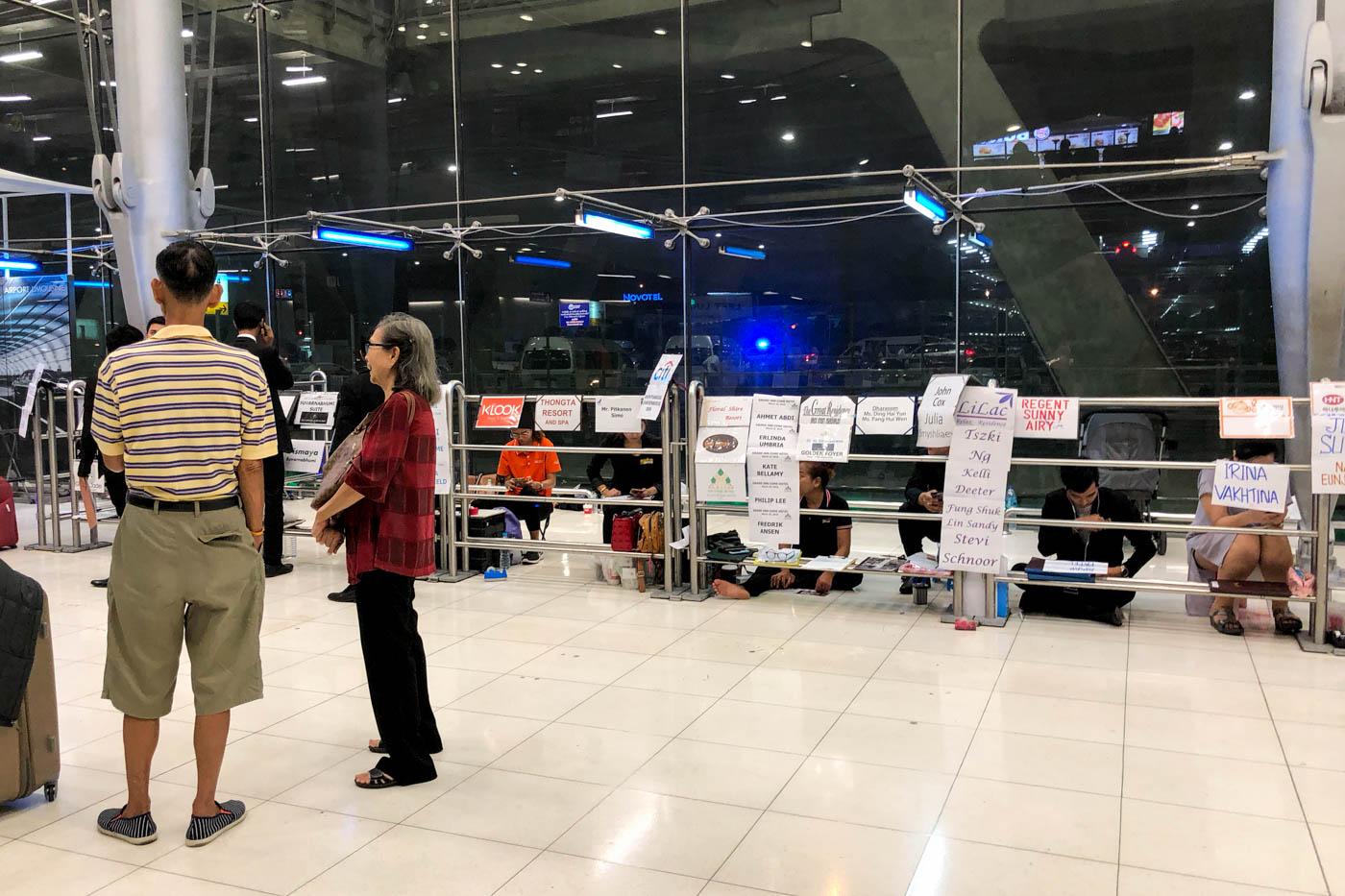 Bangkok Suvarnabhumi Airport Hotel Pick Up Point