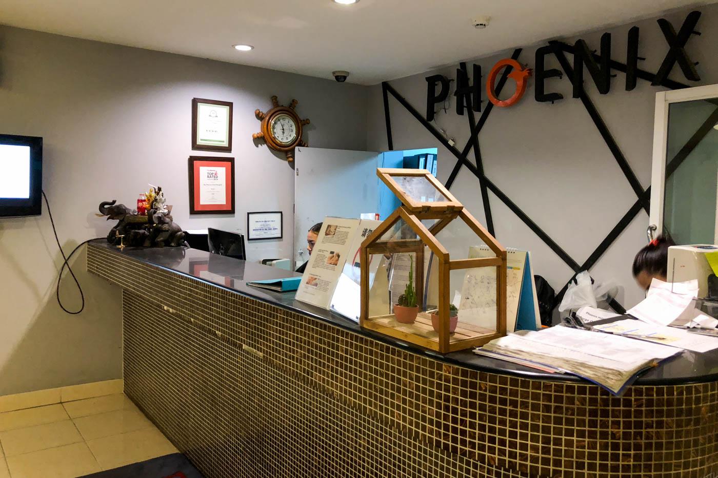 The Phoenix Hotel Bangkok Suvarnabhumi Reception