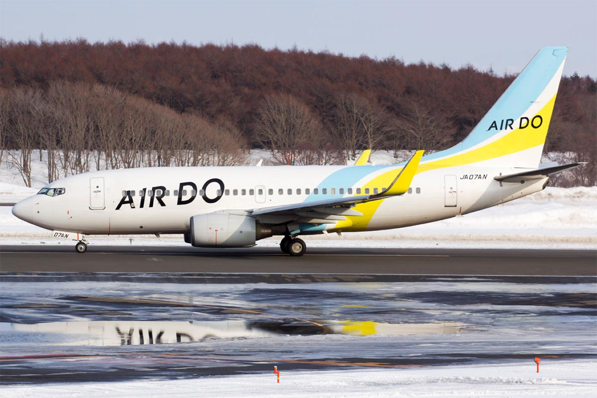 Air Do 737-700 at Sapporo New Chitose Airport