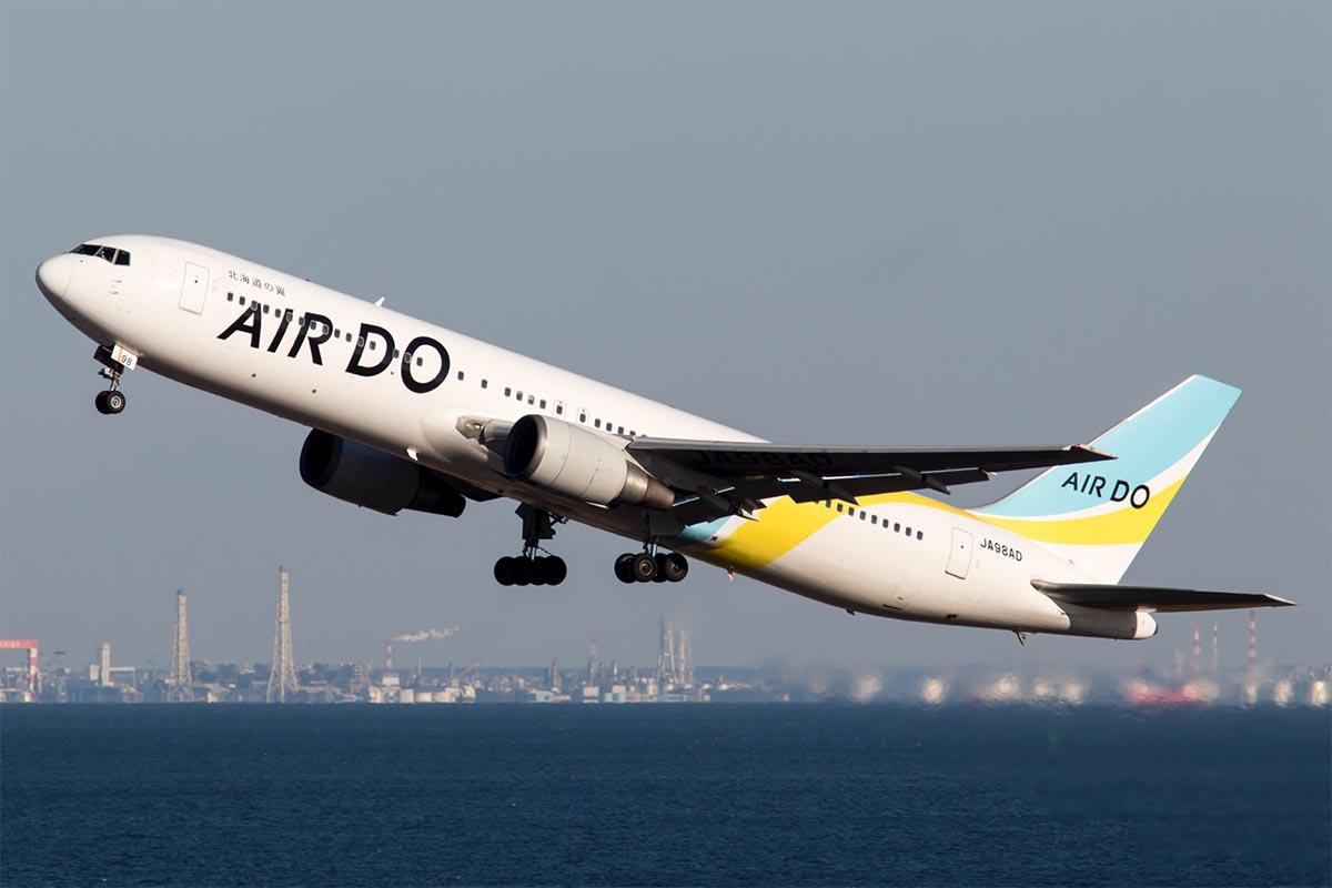 Air Do 767-300ER Departing Tokyo