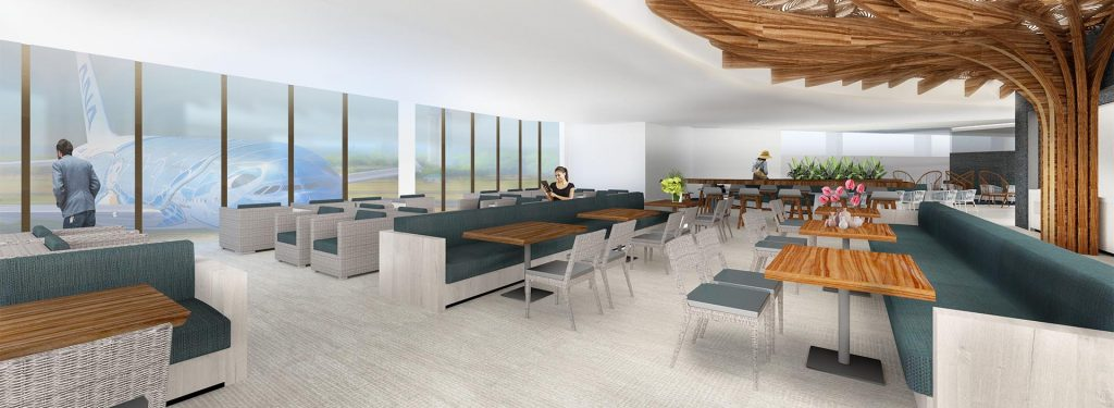 ANA Unveils Details of New Honolulu Lounge That It Plans to Open in Spring 2019