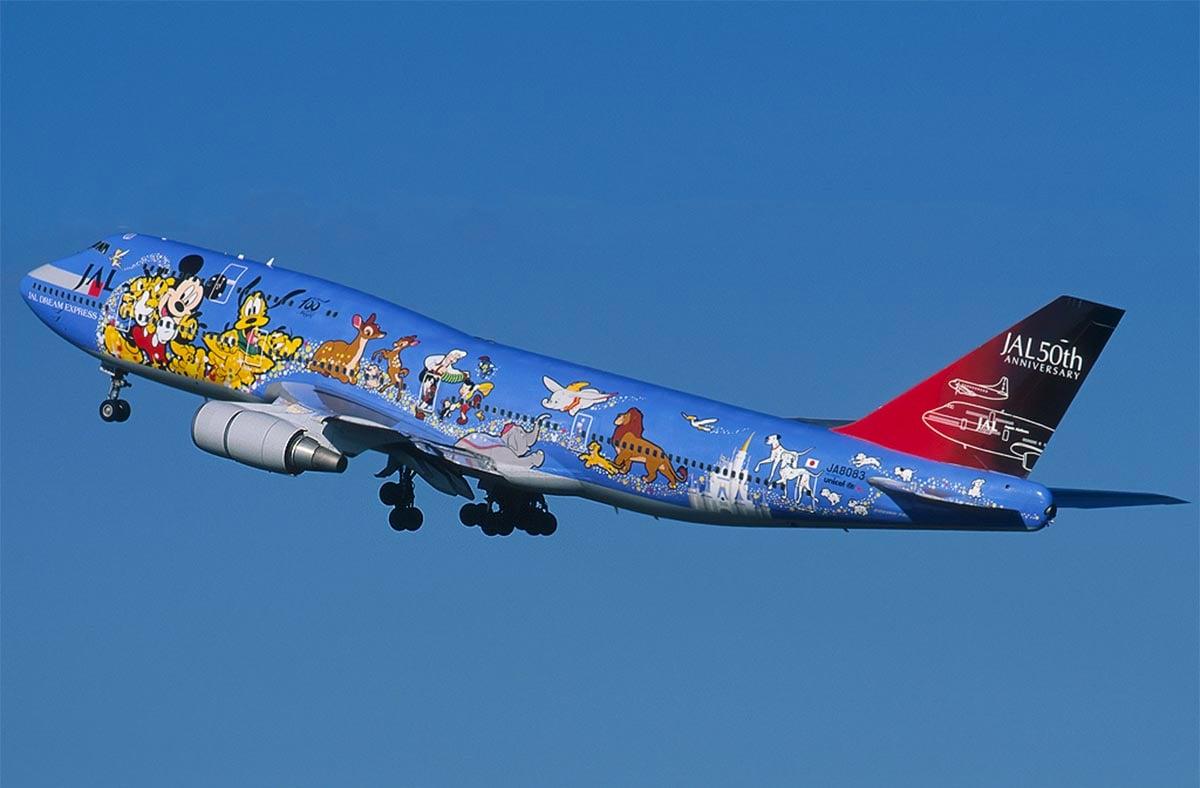 JAL Family Disney 747