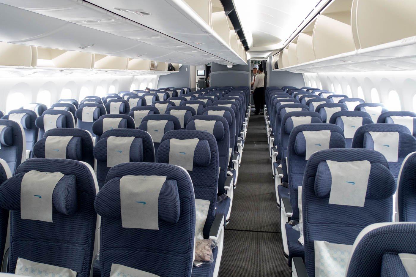 British Airways 787-9 Economy Class
