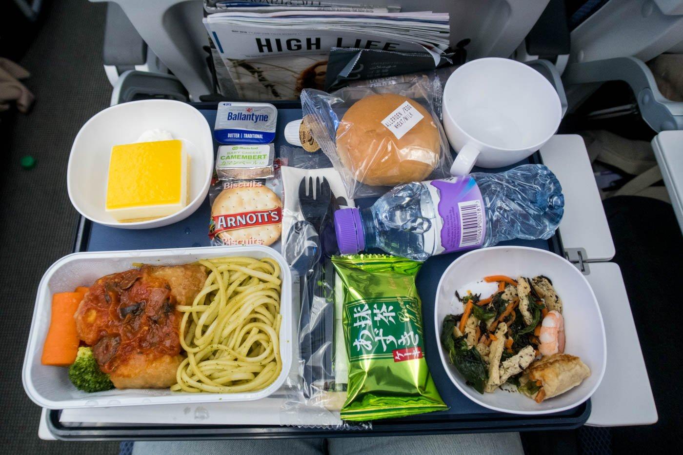 British Airways Long-haul Lunch
