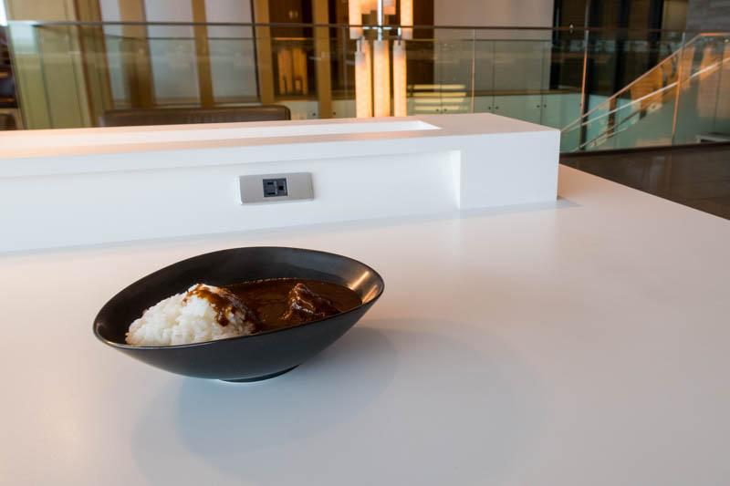 Curry Rice in JAL Sakura Lounge