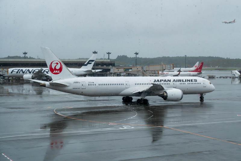 JAL 787-9 at Narita