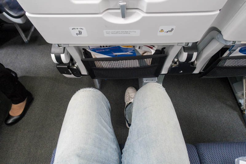 British Airways 787-9 Legroom