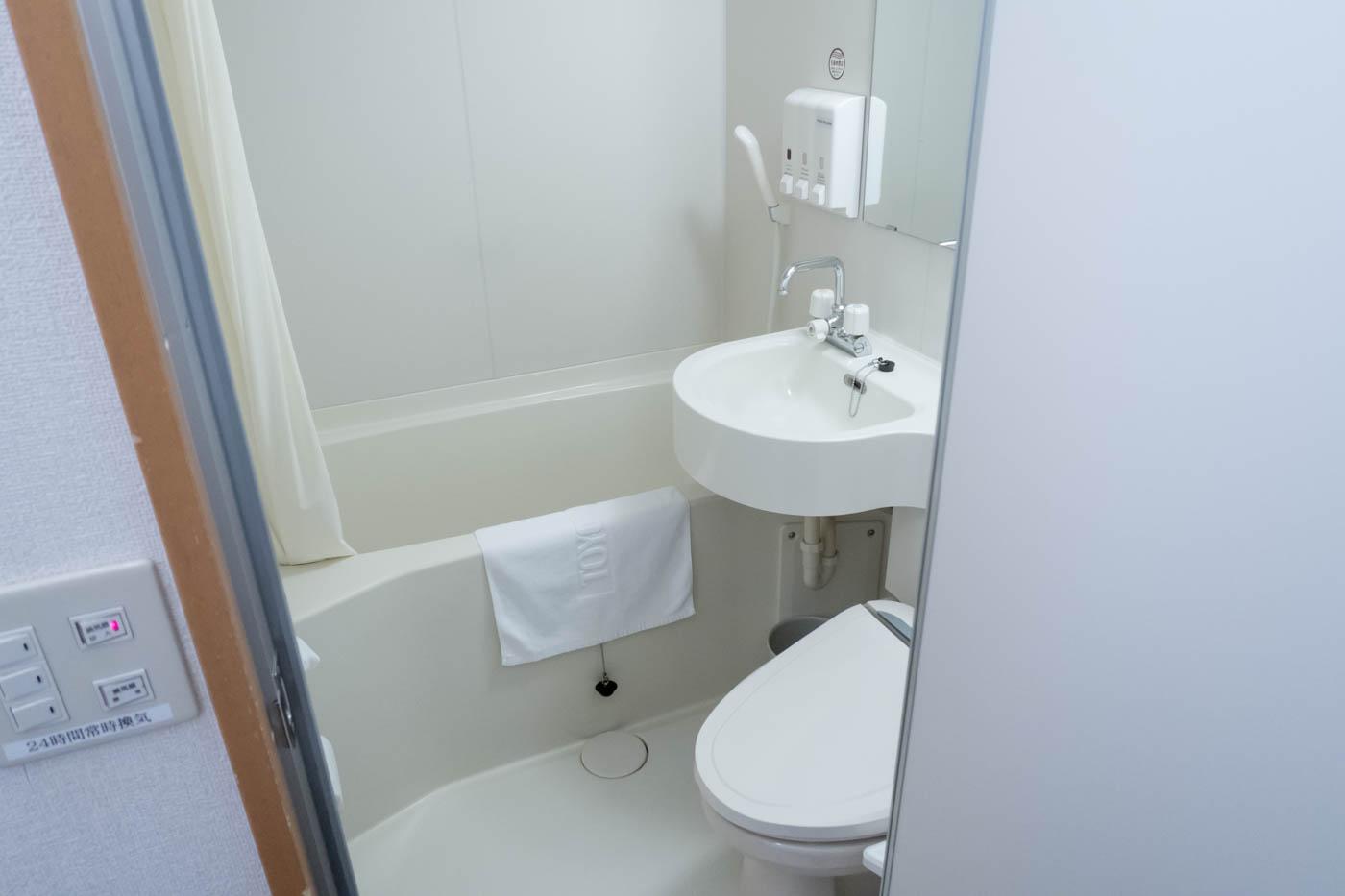 Toyoko Inn Bathroom