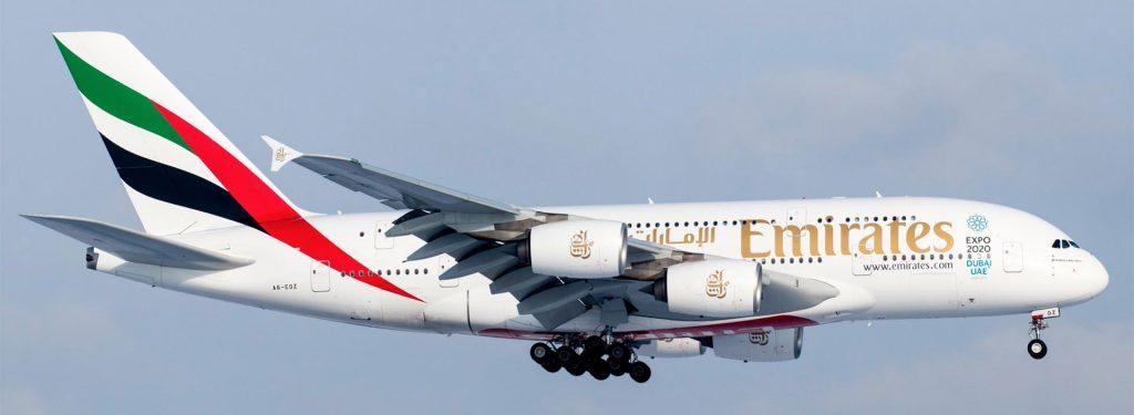 Emirates to Upgrade Dubai - Osaka Kansai to Airbus A380 in October 2018