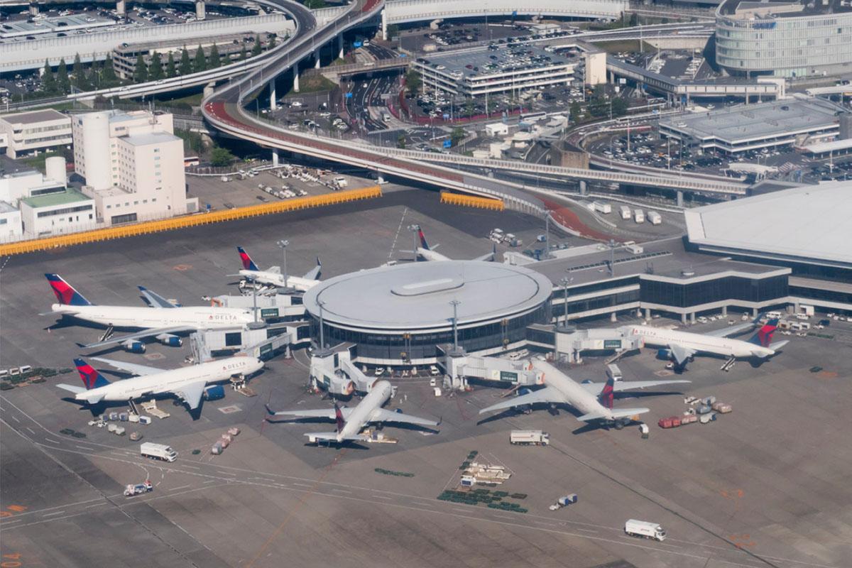 Delta Air Lines at Tokyo Narita