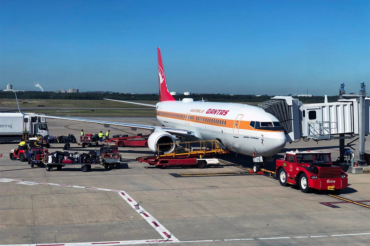 Qantas Retro Jet