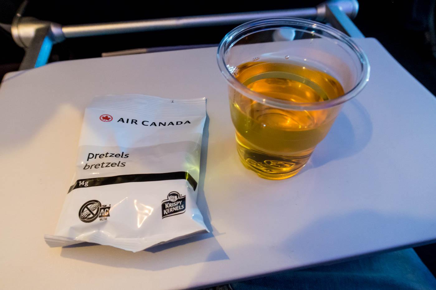 Air Canada Pretzels