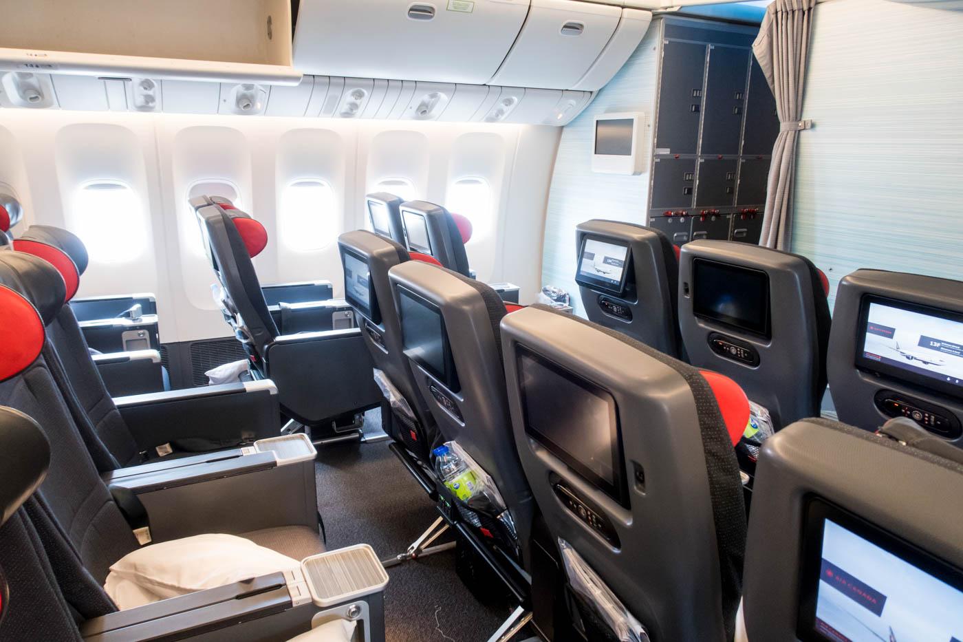 Air Canada 777-300ER Premium Economy Class