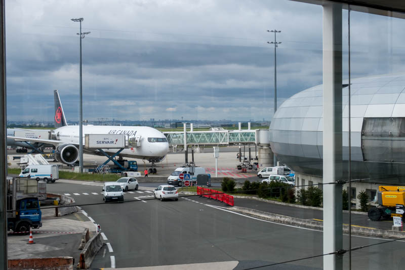 Air Canada 777-300ER at Paris CDG