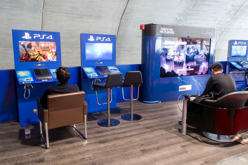 Video Game Corner at Paris CDG