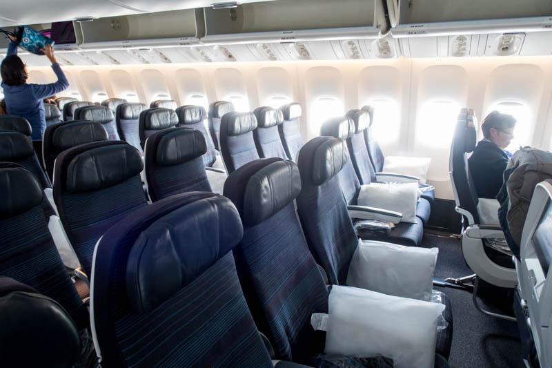 Air Canada 777-300ER Economy Class