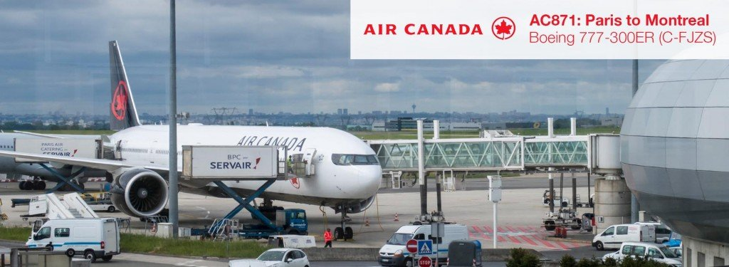 Flight Review: Air Canada 777-300ER Economy Class from Paris CDG to Montreal