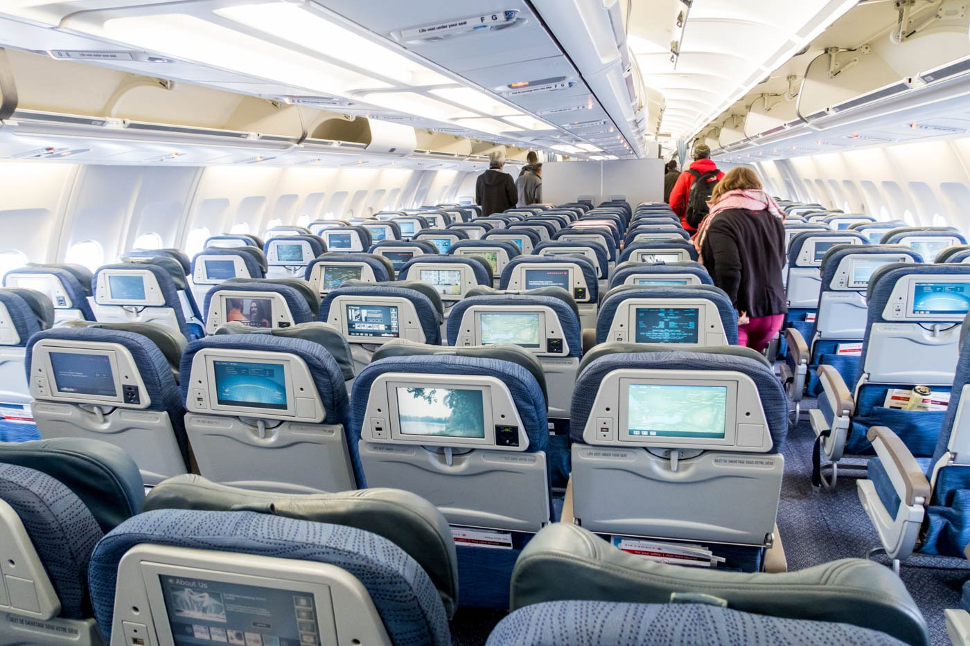 Air Canada A330-300 Economy Class