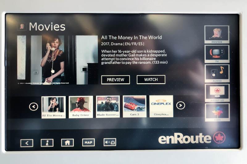 Air Canada A330-300 Movies