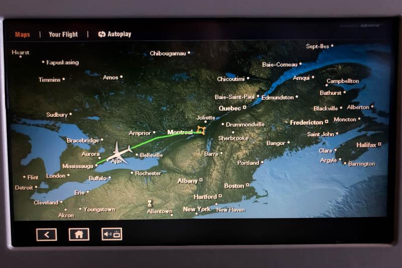 Approaching Toronto