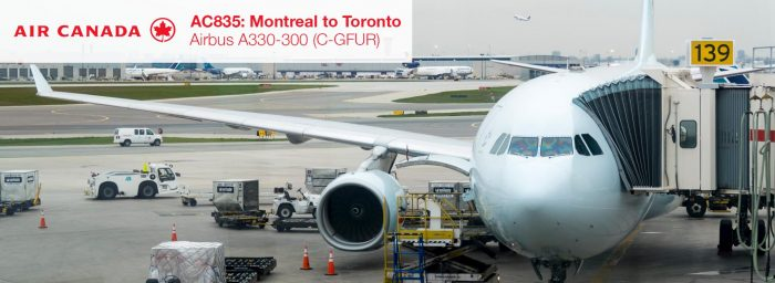 Flight Review: Air Canada A330-300 Economy Class from Montreal to Toronto Pearson
