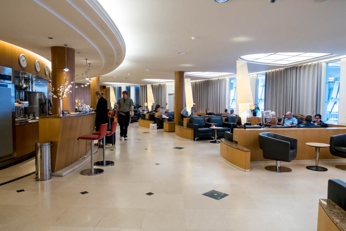 Air Canada Maple Leaf Lounge Overview