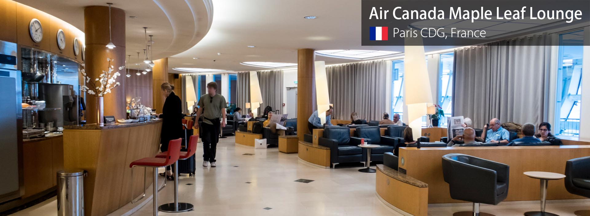Lounge Review: Air Canada Maple Leaf Lounge at Paris Charles de Gaulle