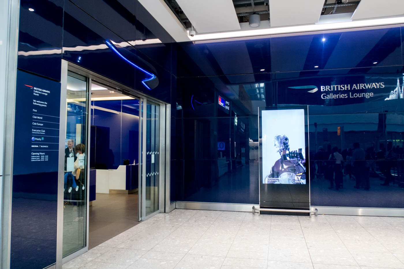 British Airways Galleries Lounge North